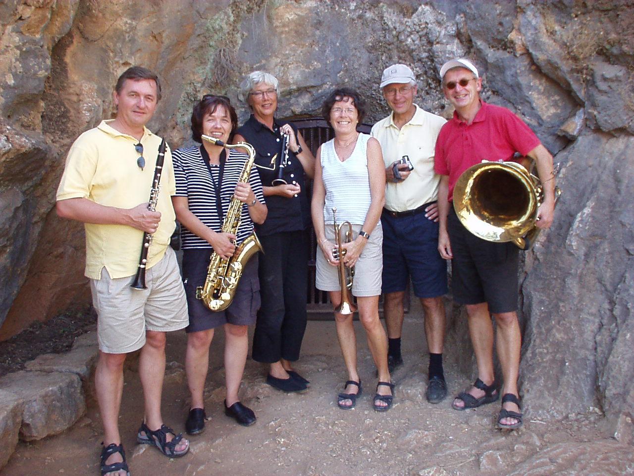 I Cueva de la Pileta i Spania i september 2004.